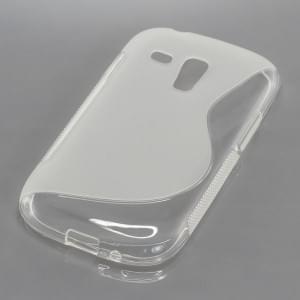 Silikon Case / Schutzhülle für Samsung Galaxy S III Mini S-Curve transparent