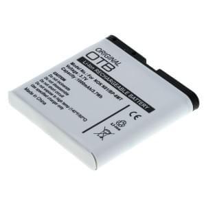 Ersatzakku BP-6MT für Nokia 6720 classic / E51 / E81 / N81 / N81 8GB / N82