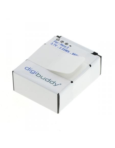 CE zertifiziert Akku, Ersatzakku für GoPro Hero3 / Hero3+ Li-Ion