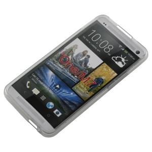Silikon Case / Schutzhülle für HTC ONE transparent