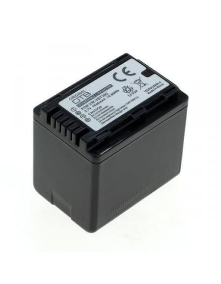 CE zertifiziert Akku, Ersatzakku ersetzt Panasonic VW-VBT380 Li-Ion 4040mAh