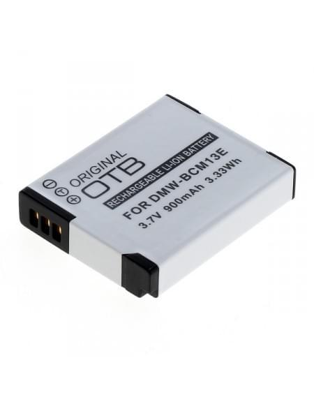 CE zertifiziert Akku, Ersatzakku ersetzt Panasonic DMW-BCM13 Li-Ion