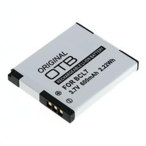 Ersatzakku ersetzt Panasonic DMW-BCL7 Li-Ion