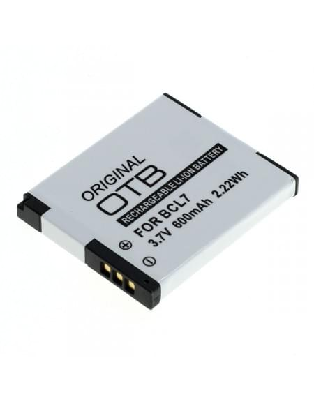 CE zertifiziert Akku, Ersatzakku ersetzt Panasonic DMW-BCL7 Li-Ion