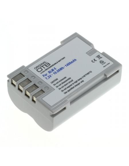 CE zertifiziert Akku, Ersatzakku ersetzt Olympus BLM-5 Li-Ion