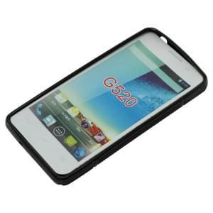 Silikon Case / Schutzhülle für Huawei G520 S-Curve schwarz