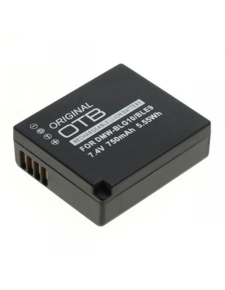 CE zertifiziert Akku, Ersatzakku ersetzt Panasonic DMW-BLG10 / DMW-BLE9 Li-Ion