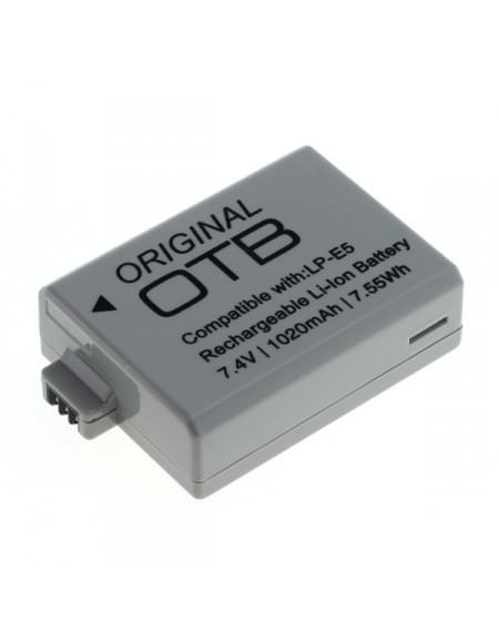 CE zertifiziert Akku, Ersatzakku ersetzt Canon LP-E5 Li-Ion