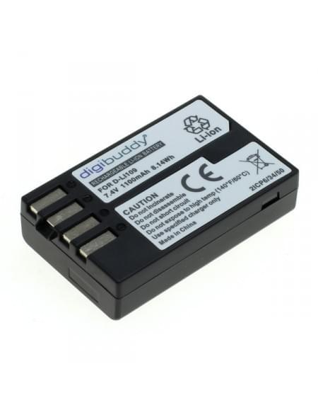 CE zertifiziert Akku, Ersatzakku ersetzt Pentax D-Li109 Li-Ion