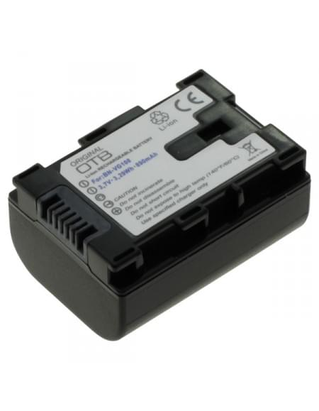 CE zertifiziert Akku, Ersatzakku ersetzt JVC BN-VG107 / BN-VG108 Li-Ion