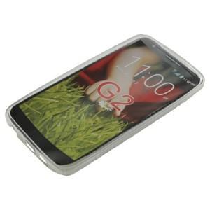 Silikon Case / Schutzhülle für LG G2 S-Curve transparent