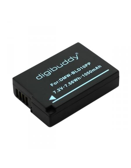 Akku, Ersatzakku ersetzt Panasonic DMW-BLD10 Li-Ion