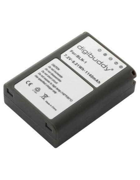 CE zertifiziert Akku, Ersatzakku ersetzt Olympus BLN-1 Li-Ion