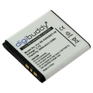 Ersatzakku ersetzt Sony Ericsson BST-38 Li-Ion