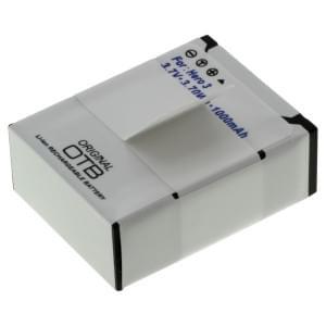 Ersatzakku für GoPro Hero3 / Hero3+ Li-Ion