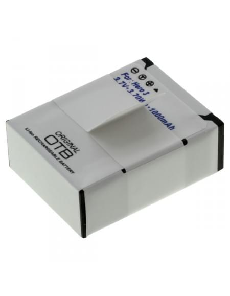 Akku, Ersatzakku für GoPro Hero3 / Hero3+ Li-Ion