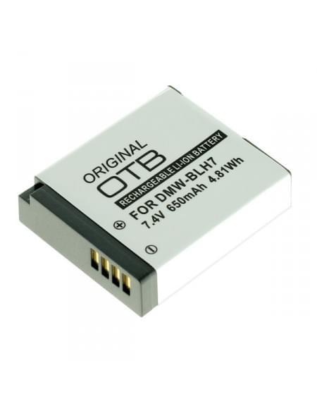 CE zertifiziert Akku, Ersatzakku ersetzt Panasonic DMW-BLH7
