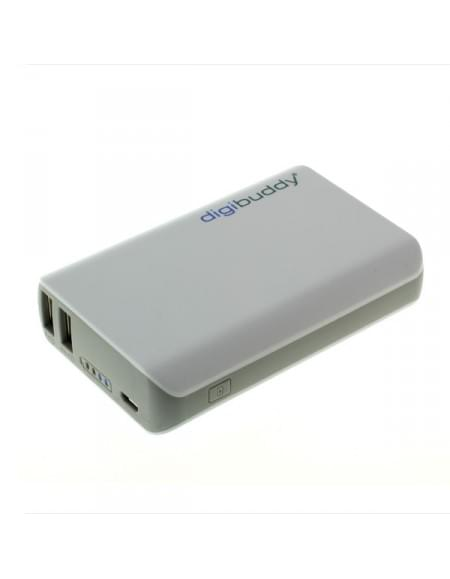 Powerbank DB-6610 - externer Akkupack - Li-Ion - weiß