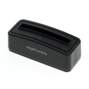 Akkuladestation für Akku Samsung B500AE - schwarz