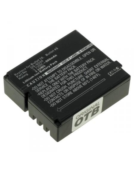 CE zertifiziert Akku, Ersatzakku für Rollei DS-SD20 Li-Ion