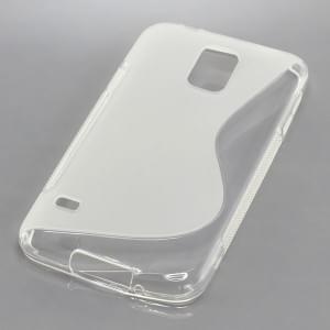 Silikon Case / Schutzhülle für Samsung Galaxy S5 SM-G900 S-Curve transparent