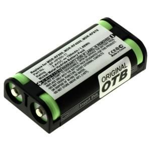 Ersatzakku ersetzt Sony BP-HP550-11 NiMH