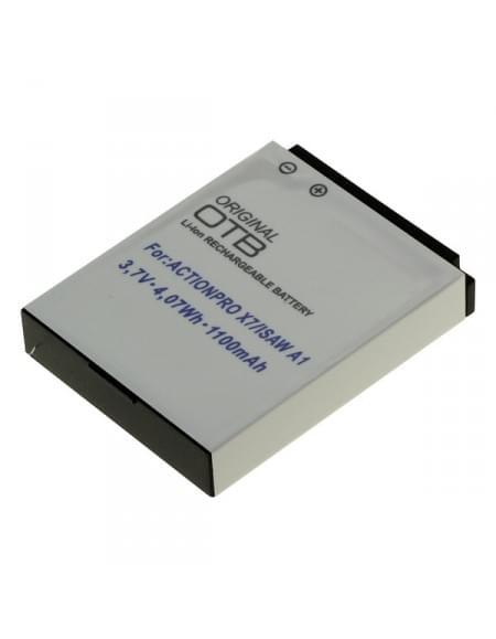 CE zertifiziert Akku, Ersatzakku für Actionpro X7 / Isaw A1/A2Ace/A3/ Extreme Li-Ion