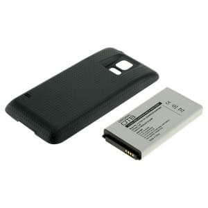 Ersatzakku für Samsung Galaxy S5 SM-G900 Li-Ion fat 4800mAh mit Rückdeckel