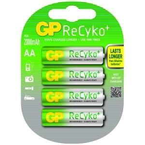 GP Akku ReCyco+ NiMH AA Mignon - 4er-Blister