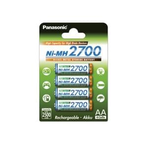 Panasonic High Capacity Akku AA NiMH - 4er-Blister (BK-3HGAE/4BE)