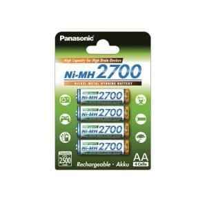 Panasonic High Capacity Akku AA NiMH - 4er-Blister (BK-3HGAE/4BE)
