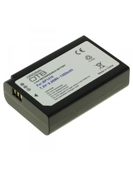Akku, Ersatzakku ersetzt Samsung BP1410 Li-Ion