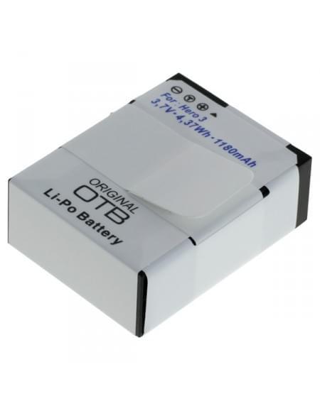 CE zertifiziert Akku, Ersatzakku für GoPro Hero3 / Hero3+ Li-Polymer