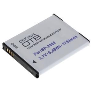 Ersatzakku ersetzt Samsung BP2000 Li-Ion