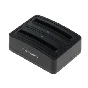 Akkuladestation 1302 Dual für Samsung EB-L1G6LLA - schwarz