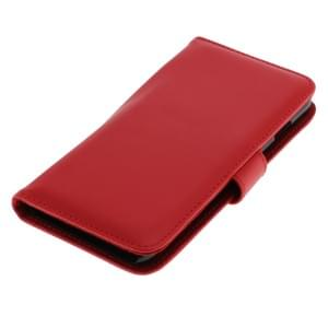 Ledertasche PU Leder für Apple iPhone 6 Plus / iPhone 6S Plus Bookstyle rot