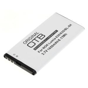 Ersatzakku BL-5H für Nokia Lumia 630 / 630 Dual SIM / 635 / 636 / 638 Li-Ion