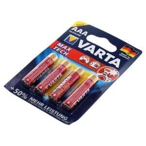 Varta Batterie MAX TECH AAA (LR03) 4703 - 4er Blister