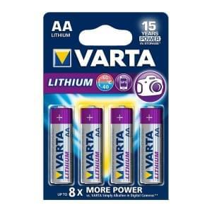 Varta Batterie Professional Lithium AA Mignon 2900mAh 6106 - 4er-Blister