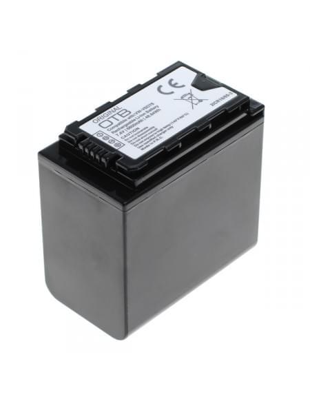 CE zertifiziert Akku, Ersatzakku ersetzt Panasonic VW-VBD78 Li-Ion mit Akkustand-Anzeige