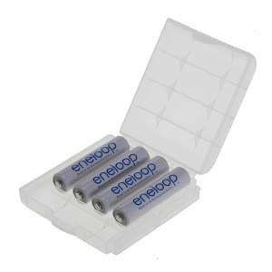 Panasonic eneloop Akku AAA - 4 Stück + Schutzbox (BK-4MCCE/BF1)
