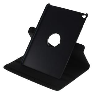 Ledertasche PU Leder für iPad Air 2 - 360 Grad drehbar - schwarz