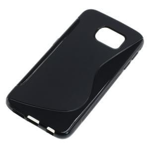 Silikon Case / Schutzhülle für Samsung Galaxy S6 SM-G920 S-Curve schwarz