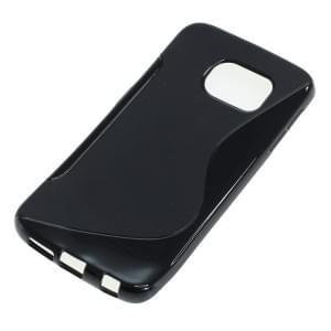 Silikon Case / Schutzhülle für Samsung Galaxy S6 Edge SM-G925 S-Curve schwarz