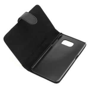 Ledertasche PU Leder für Samsung Galaxy S6 SM-G920 Bookstyle schwarz