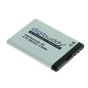 Ersatzakku BL-4B für Nokia 2630 / 2760 / 5000 / 6111 / 7370 / 7373 / 7500 Prism / N75 / N76 Li-Ion