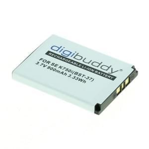 Ersatzakku ersetzt Sony Ericsson BST-37 Li-Ion
