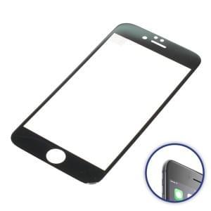 Displayschutzfolie 3D Curved für Apple iPhone 6 / iPhone 6S schwarz