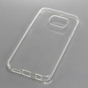 Silikon Case / Schutzhülle für Samsung Galaxy S6 Edge SM-G925 voll transparent