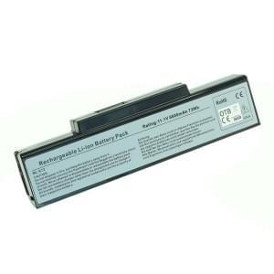 Ersatzakku für Asus A32-K72 / A32-N71 6600mAh Li-Ion schwarz